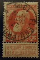 Belgique  Oblitération Flenu Produit Sur COB N°74 - 1905 Barbas Largas