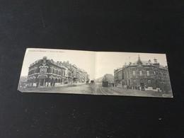 CP Ancienne Double De Charleroi : Avenue Des Viaducs émise Par Le Café Du Cheval Arabe - Charleroi