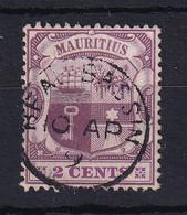 Mauritius: 1904/07   Badge    SG165     2c     Used - Mauritius (...-1967)