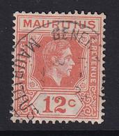 Mauritius: 1938/49   KGVI    SG257     12c    Used - Mauritius (...-1967)
