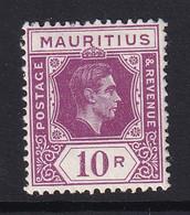 Mauritius: 1938/49   KGVI    SG263a     10R   [Ordinary]   MH - Mauritius (...-1967)
