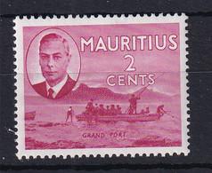 Mauritius: 1950   KGVI - Pictorial   SG277     2c    MH - Mauritius (...-1967)