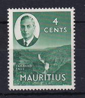 Mauritius: 1950   KGVI - Pictorial   SG279     4c    MH - Mauritius (...-1967)