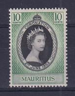 Mauritius: 1953   Coronation   MH - Mauritius (...-1967)