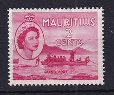 Mauritius: 1953/58   QE II - Pictorial   SG293     2c     MH - Mauritius (...-1967)