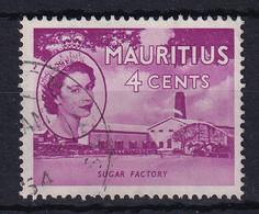 Mauritius: 1953/58   QE II - Pictorial   SG295     4c     Used - Mauritius (...-1967)