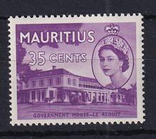 Mauritius: 1953/58   QE II - Pictorial   SG301     35c     MH - Mauritius (...-1967)