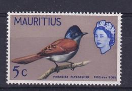 Mauritius: 1965   QE II - Birds   SG320     5c    MNH - Mauritius (...-1967)