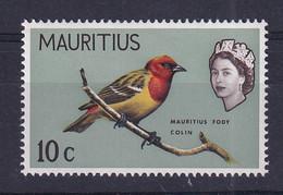Mauritius: 1965   QE II - Birds   SG321     10c    MNH - Mauritius (...-1967)