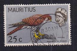 Mauritius: 1965   QE II - Birds   SG324     25c    Used - Mauritius (...-1967)