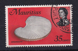 Mauritius: 1969/73   QE II - Marine Life  SG391     35c     Used - Mauritius (...-1967)