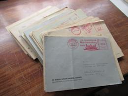 Deutsche Post / SBZ / DDR 1946 - 1950 AFS Freistempel Belegeposten 105 Stk. Firmenumschläge / Viele Verschiedene Stempel - Collections (without Album)