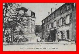 CPA (19) BUGEAT.  Hôtel Des Voyageurs...F981 - Other Municipalities