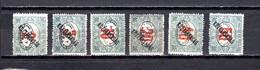Hungría    ( Debreczen )  1919 .-  Y&T Nº  7/12   Taxa - Debreczen