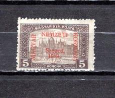 Hungría    ( Szeged )  1919 .-  Y&T Nº  18 - Szeged