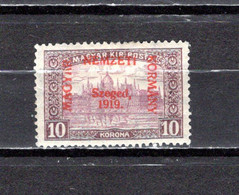 Hungría    ( Szeged )  1919 .-  Y&T Nº  19 - Szeged