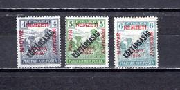 Hungría    ( Szeged )  1919 .-  Y&T Nº  26/28 - Szeged