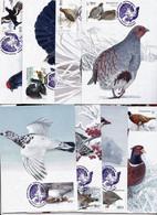 Ukraine 2021 MCard Fauna Birds  - 8pc   New - Ucrania