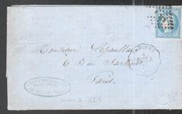 Nord, , LAC Avec Convoyeur De Station Bergues, Ligne 206, Dunkerque à Hazebrouck, Voir Description - 1849-1876: Période Classique