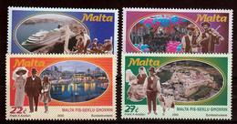 Malta Mi 1119,1122 Milennium 2000 Postfris M.N.H. - Malta