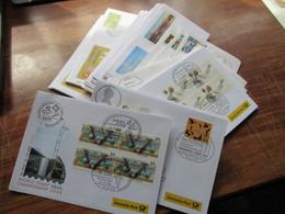 BRD Deutsche Post 1995 - 2014 FDC / Sonderbelege Posten Mit 55 Belegen überwiegend Der € Zeit Etl. Zuschlagsmarken - Collections (without Album)