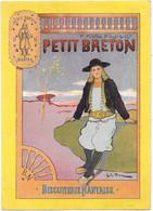 CHROMO BN. Biscuiterie Nantaise - Petit Breton - Altri