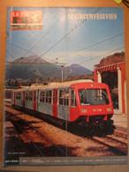 Vie Du Rail 1396 1973 Marcigny Coteau Circumvésuvien Naples Fontaulière Lalevade Laussonne Fontfrède Recoumène - Trains