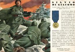 CPA - WW2 WWII Propaganda - MEDAGLIA D'ORO (54) - 9° Reggimento Alpini - Silvio Di Giacomo Da Acciano - NV - WN135 - War 1939-45