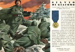 CPA - WW2 WWII Propaganda - MEDAGLIA D'ORO (54) - 9° Reggimento Alpini - Silvio Di Giacomo Da Acciano - NV - WN136 - War 1939-45