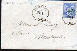 Loiret, LSC Avec Convoyeur De Station TRIGUERES, Ligne 278, Sens à Montargis - 1849-1876: Période Classique