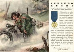 CPA - WW2 WWII Propaganda - MEDAGLIA D'ORO (56) - 11° Reggimento Bersaglieri - Alfredo Lutri Da Trebisacce - NV - WN137 - War 1939-45