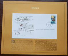 TOKELAU - FDC 1982 - YT N°88 - Pêche Aux Poissons Volants - Sur Document - Tokelau