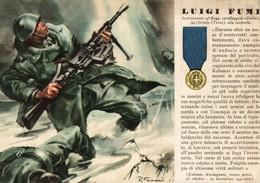 CPA - WW2 WWII Propaganda - MEDAGLIA D'ORO (60) - 19° Reggimento Cavalleggeri Guide - Luigi Fumi Da Orvieto - NV - WN139 - War 1939-45