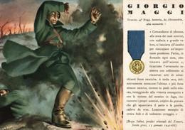 CPA - WW2 WWII Propaganda - MEDAGLIA D'ORO (68) - 49° Reggimento Fanteria - Giorgio Maggi Da Alessandria - NV - WN142 - War 1939-45