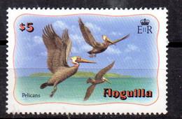 Sello  Nº 438 Anguilla - Pelicans