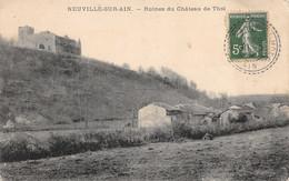 Neuville Sur Ain (01) - Ruines Du Château De Thol - Altri Comuni