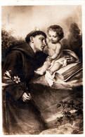 SANTINI-SANTI-MARTIRI-S.ANTONIO DA PADOVA-1933-CARTOLINA VIAGGIATA- - Religion & Esotericism