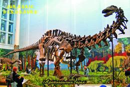 Carte Postale, Animaux Prehistoriques, Jurassic Dinosaurs, Apatosaurus Ajax - Altri
