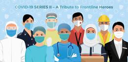 2021 NEW *** Singapore Covid-19 Series II - A Tribute To Frontline Heroes Presentation Pack MNH Doctor Coronavirus (**) - Singapore (1959-...)