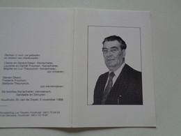 Doodsprentje/Bidprentje  Marcel ROMMELAERE  Esen 1909-1993 Roeselare  (Echtg Maria DE ROO) - Religion & Esotericism