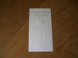Carte Lauder Emerald Dream - Modern (from 1961)