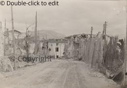 FOTO Italia - Italy Gorizia Strada Di Piuma In Podgora Isonzo WW1 - Gorizia