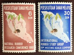 Malaya Federation Malaysia 1960 Rubber Research MNH - Federation Of Malaya