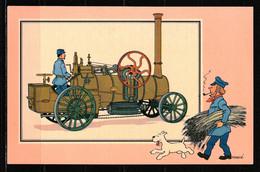 """TINTIN / Chromo """"Voir Et Savoir"""" Par Hergé : Automobile : N° 21 - Editions Du LOMBARD - Other"""