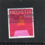 2021 Svizzera - Lettera A - Used Stamps