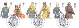 Great Britain 2008 - Raf Uniforms - Gebruikt