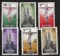 Espagne 1960 N° Y&T : 965 à 970 Obl. - 1951-60 Gebraucht