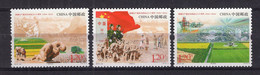 China PR 2014 Mi# 4623-25 60th Ann Of Founding Xinjiang Production Construction (46x17) - Unused Stamps