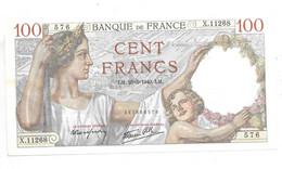 *france 100 Francs 23/5/1940 27   Unc - 100 F 1939-1942 ''Sully''