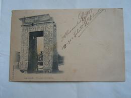 C.P.A. \P.C \.Ak   Egypte Le Caire Thebes Karnak Le Polygone D'Evergese - 1900 - Caïro